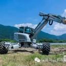 国内首台15吨重型无人驾驶步履工作平台 在福建海山机械下线